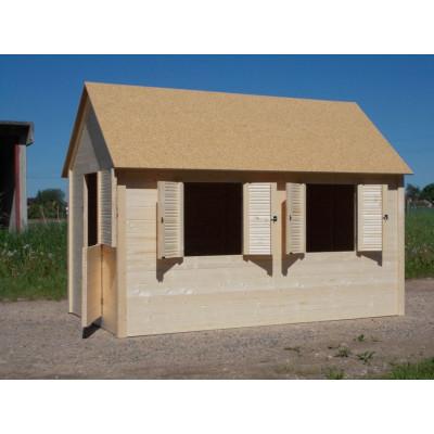 Domeček GRAND 140x240x185 centimetrů